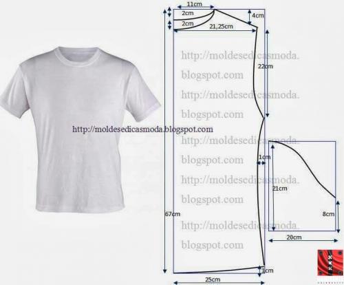 Как сшить футболку для мальчика выкройки